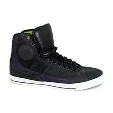 PF Flyers Glide Black/Purple Lace Up High Top Sneakers Men's Size 13 US