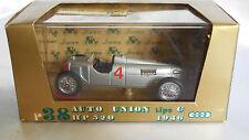 1/43 BRUMM AUTO UNION TIPO C HP 520 DEL 1936 #4 R38 SERIE ORO