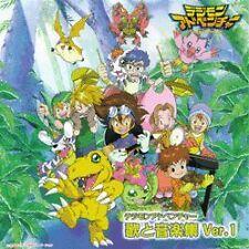 Digimon Adventure Soundtrack 1 rare Japanese import