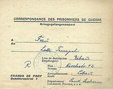 POW Camp 131 Clermont France 1947 German Prisoner of War Kriegsgefangenenpost 13