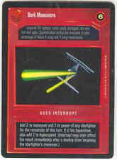 Star Wars CCG Tournament FOIL Dark Maneuvers