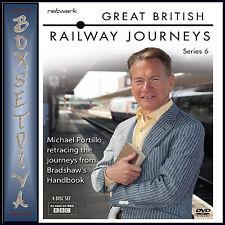 GREAT BRITISH RAILWAY JOURNEYS - COMPLETE SERIES 6 **BRAND NEW DVD***