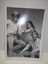 Photo Postcard Elvis Presley Katy Jurado Burgess Meredith