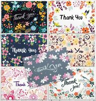 Thank You Cards Bulk for Wedding, Bridal & Baby Shower | 42 Greeting Note Cards