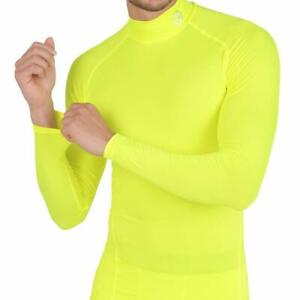 ARMEDES Mens Mock Long-Sleeved T-Shirt Cool Dry Compression Baselayer AR 151