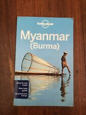 LONELY PLANET USED MYANMAR AKA BURMA TRAVEL GUIDE BOOK AUS STOCK