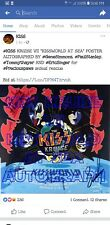 """KISS KRUISE VII """"KISSWORLD AT SEA"""" AUTOGRAPHED POSTER FROM MCGHEE ENTERTAINMENT"""