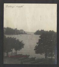 Pallanza Lago Maggiore Italie Italia Vintage argentique 1923