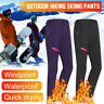 Outdoor Women Winter Warm Pants Hiking Sport Skiing Climbing Lady Trousers