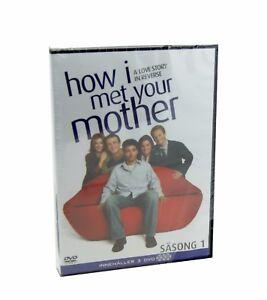 How I Met Your Mother Stagione 1 Cofanetto DVD Regione 2 Nuovo Sigillato