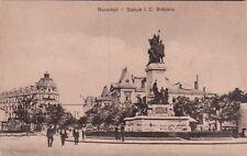 ROMANIA - Bucuresti/Bucharest - Statuia I.C.Bratianu 1934