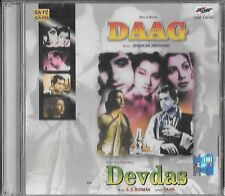 DAAG - DEVDAS. NEW BOLLYWOOD CD FREE UK POST - 2 IN 1 CD