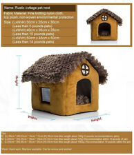 Pomeranian Bichon small dog kennel dog house M 	cottages