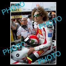 MARCO SIMONCELLI MOTO GP CHAMPION LARGE ACTION PHOTO 2