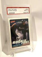 2001 Upper Deck Victory #564 Ichiro Suzuki Rookie PSA 9 Mint Seattle Mariners