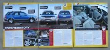 FORD TERRITORY 4X4 SUV Car Auto Magazine Page Article Test Drive Used Review