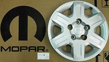 "OEM MOPAR 11-14 DODGE CARAVAN JOURNEY 16"" SILVER HUB CAP WHEEL COVER 4721195AC"