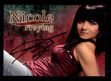 Original Autogrammkarte Nicole Ciroth Ludwig2 Musical 2005 Füssen