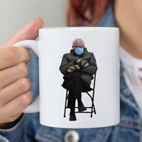 Bernie Sanders Mittens mug Novelty Funny Coffee Mug Ceramic