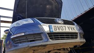 VW Passat Blue ESTATE LD5Q 1.9D 05-11 *BREAKING* REAR BUMPER CHECK PICS