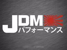 Aufkleber JDM Performance Style Tuning Auto Sticker Rising Sun Decal 180