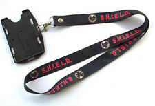 The Avengers Agents of shield S.H.I.E.L.D. ID Card Holder Lanyard Neck Strap
