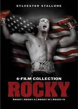 Rocky 4-Film Collection [New Dvd] Widescreen 4 Disc Set Free Shipping