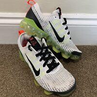 Nike Air Vapormax Flyknit 3 Retro Future Ladies Womens White Trainers UK Size 4