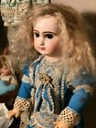 Tête Jumeau Closed Mouth Pressed Bisque Doll size 65 Cm crack on the head