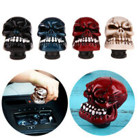 H3E# Fashion Skull Head Car Gear Shift Knob Modification Car Interior Accessory