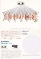 PANASONIC HOME PROJECTION SYSTEM UNUSED ADVERTISING COLOUR  POSTCARD
