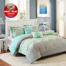 Bedroom Kashmir Full Queen Size 5-Piece Bedding Matching Comforter Set Polyester