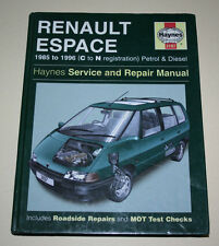 Reparaturanleitung Renault Espace I + II (Typen J11 + J63), Baujahre 1985 - 1996