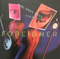 FOREIGNER THE VERY BEST AND BEYOND CD ATLANTIC USA 1992