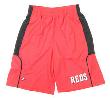 Majestic MLB Youth Cincinnati Reds Batters Choice Shorts, Red