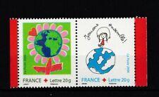 France : 2006 Yvert N°3991 3992 - La Paire Croix Rouge Neufs ( MNH )