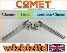 COMET Chrome 50mm Manillar Enganche TRIUMPH DAYTONA 675 2006-2013 hc50ch