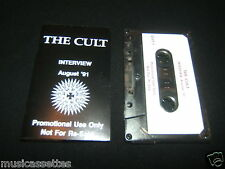 THE CULT INTERVIEW NEW ZEALAND CASSETTE TAPE