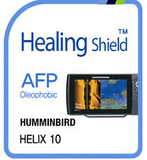 For HUMMINBIRD HELIX 10 ,  Oleophobic Screen Protector AFP Clear Film