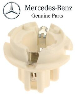 For Mercedes Benz CL500 CL55 R500 S350 S430 Genuine Taillight Bulb Socket White