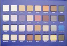limited edition Blue II MEGAPRO 32 EyeShadow Palette Lorac makeup Shimmer&Matte