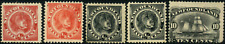 Newfoundland #56-59 mint/used VG/VF Newfoundland Dog & Schooner CV$144.00