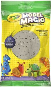 Crayola Model Magic Gray Modeling Clay Alternative At Home Crafts for Kids