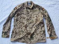 Bundeswehr Blusa De Campo, Camisa chaqueta, CAMUFLAJE tropical, talla 7 , FECHA