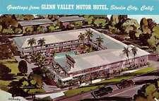 Studio City California Greetings From Glenn Valley Motor Hotel pc Y13640