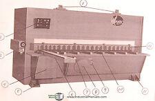 """Atlantic Cost Cutter, 10ft. x 1/2"""", Shear Operations & Maintenance Manual 1986"""