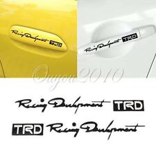 4pcs TRD Head Graphics Auto Car Truck Handle Decor Stickers Decals Paster