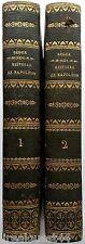 Histoire de Napoléon et de la grande-armée pendant l'année 1812 Ségur 1825 2 Vol