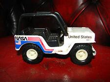 Vintage 1980 diecast tin Buddy L Nasa Jeep