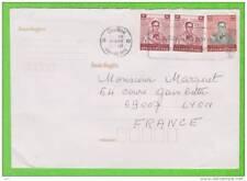 Sur Enveloppe - 3 timbres THAILAND (Réf. mp9)